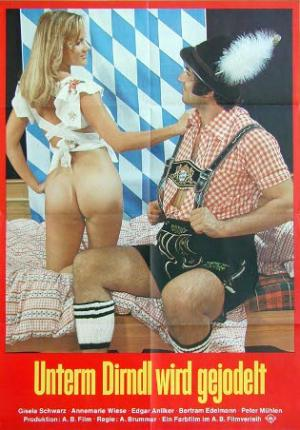 Unter`m Dirndl wird gejodelt (1974) Adult Movie Video
